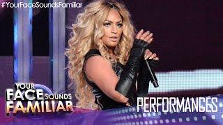 """Your Face Sounds Familiar: Denise Laurel as Beyoncé - """"Crazy In Love"""""""