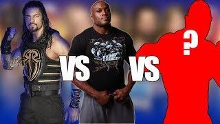 Third Wrestler in #1 contender Match Revealed! Winner And Opponent Of Brock lesnar!
