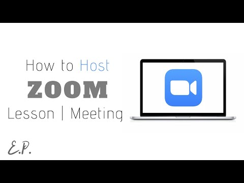 How to Host / Schedule Zoom Video Conference (Windows, Mac)