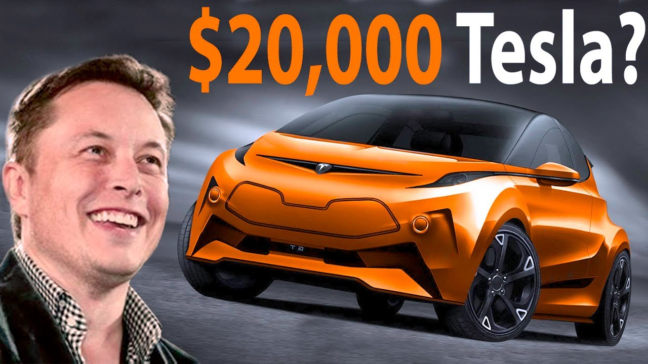 Tesla's $20,000 Compact Car - Coming Soon After Tesla Battery Day Reveals New Batteries