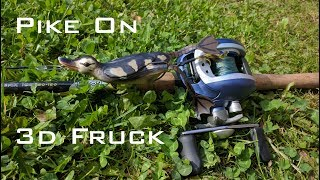 Savage Gear THE FRUCK 3D Hollow Body Duckling video