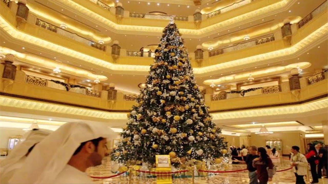 El arbol de navidad mas caro del mundo youtube - Arbol de navidad blanco decorado ...
