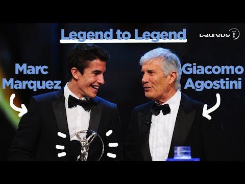 Legend to Legend: Giacomo Agostini & Marc Márquez