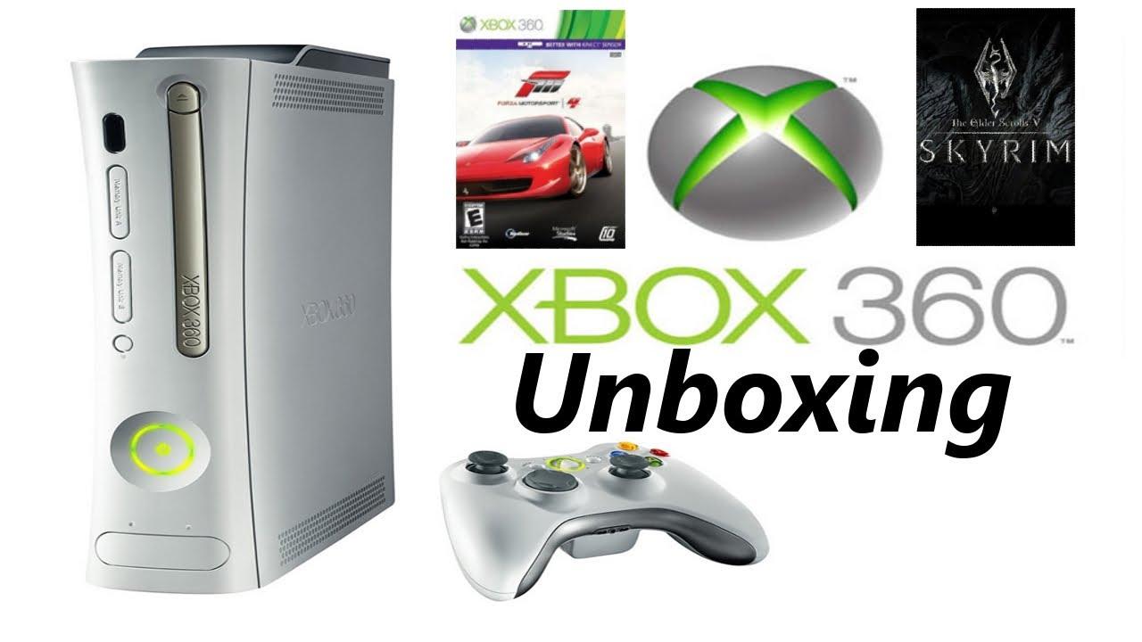 Xbox 360 Unboxing (Slim) 250GB Holiday Bundle - YouTube