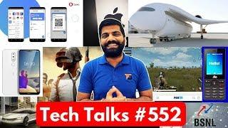 Tech Talks #552 - Apple Store Robbery, Flying Train, Infinix Hot 6 Pro, BSNL WiFi Calling, PUBG Beta