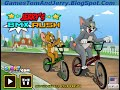 Jerry's BMX Rush, Tom and Jerry Bmx Rush Games Online Play Free