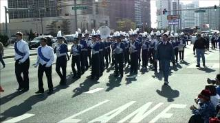 Stephen Decatur High School Marching Band at the Ocean City Christmas Parade 2011