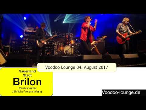 Voodoo Lounge Musiksommer 04  August 2017 in Brilon