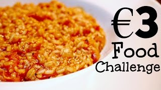 3 Euro Food Challenge - Tomato Bacon Risotto   The Beauty Suitcase