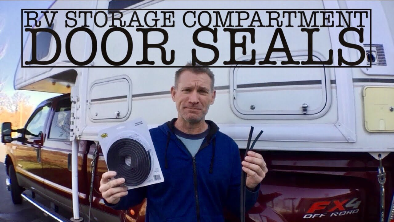 RV Storage Compartment Seal Repair and Replacement
