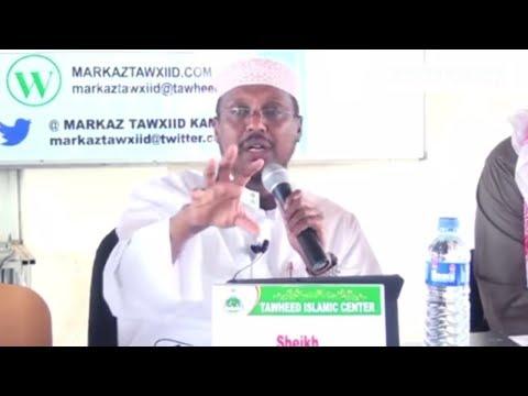 MUXAADARO CUSUB 2017 | Waa Kuma Mufakirku ama Aqoonyahanka - Sh Mustafe Xaaji ismaaciil