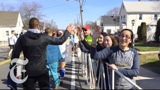Boston Marathon 2014: A Record Crowd | The New York Times