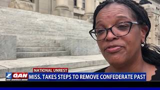 Miss. takes steps to remove Confederate past