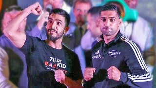 Amir Khan vs Billy Dib FULL WEIGH IN & FINAL FACE OFF | Jeddah | Boxing