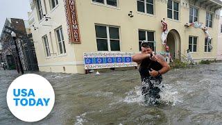 Hurricane Sally floods downtown Pensacola, Florida | USA TODAY
