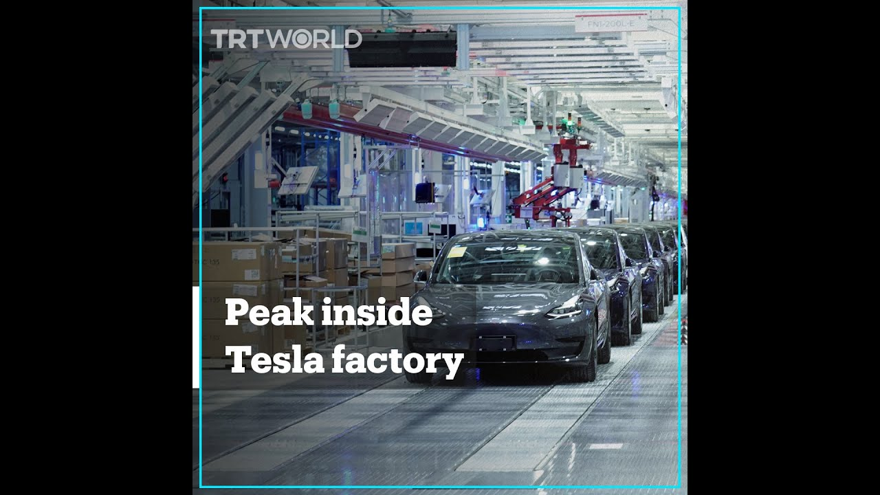 Inside look at Tesla's Giga-factory in China