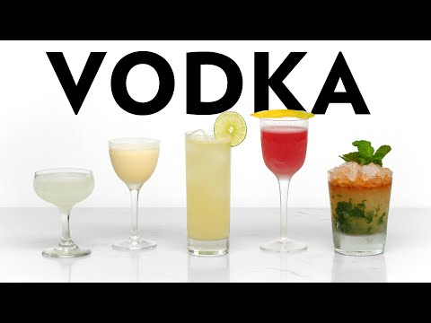 5 Best Vodka Cocktails Volume 1