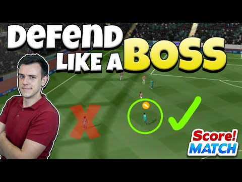 HOW TO DEFEND IN SCORE! MATCH ⚽ [ADVANCED TIPS] :: E155
