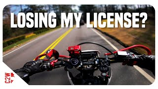 I Might Be Losing My License...