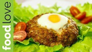 ГНЕЗДА с ФАРШЕМ и ЯЙЦОМ. Быстро и вкусно | Вторые блюда | FoodLove