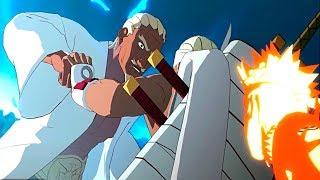 Killer Bee Defends Naruto - Naruto Shippuden Ultimate Ninja Storm 3 Game - Kushina and Minato