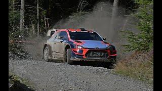Craig Breen test's ahead Wales Rally GB Hyundai WRC