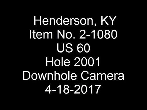 2017-04-18 Henderson US 60 Hole 2001 Downhole