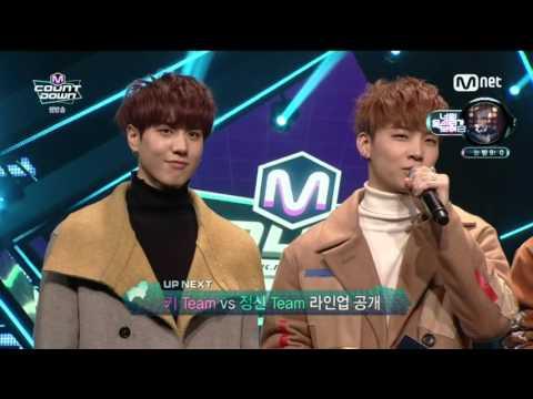 [HD] 160107 JB & Yugyeom (GOT7) MC Cut @ M! Countdown