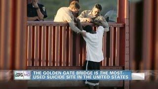 Golden Gate Bridge Considers Suicide Barrier