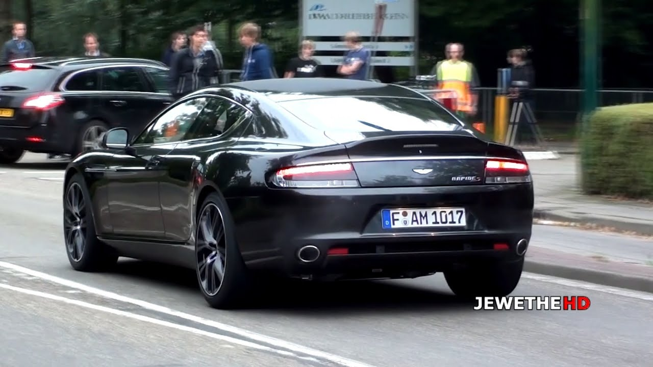 Aston Martin Rapide S LOUD Acceleration & Driving Scenes! (1080p Full HD)