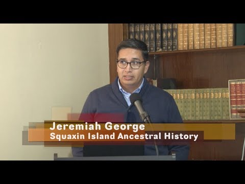 Schmidt House History Talks - Squaxin Island Ancestral Heritage