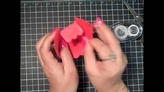 Stampin' Up! Tutorial And Diy Wedding Favor Scallop Square Box