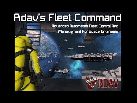 Rdav's Fleet Command MKII [Space Engineers]