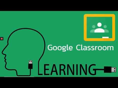 Google Classroom EP.6 (การสร้างกิจกรรมมอบหมายงานแบบส่งคำตอบโดยแนบไฟล์ VDO)
