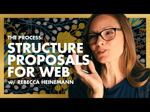 How To Structure A Proposal For Web & Branding Projects Ep.3 W/Rebecca