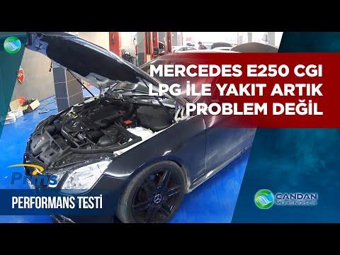 Yok Artık!! Mercedes E250 CGI ,Prins VSI2 LPG ile Yakıt Artık Problem Değil