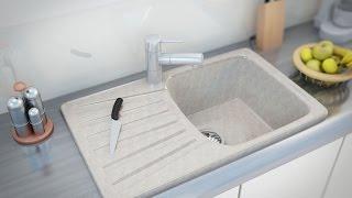 Видеообзор мойки для кухни Moko Napoli Marmo Elegante (www.santehimport.com)