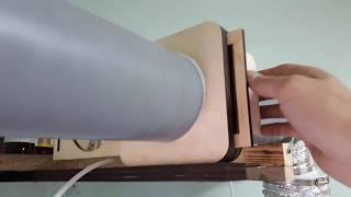 Как сделать перекрывной клапан для вытяжки в мастерскую своими руками.