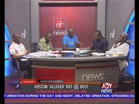 GH23M 'Alleged' Rot @ BOST - Newsfile on JoyNews (17-3-18)