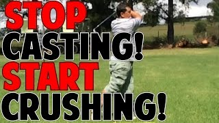 STOP CASTING & START CRUSHING THE BALL! | Student Review