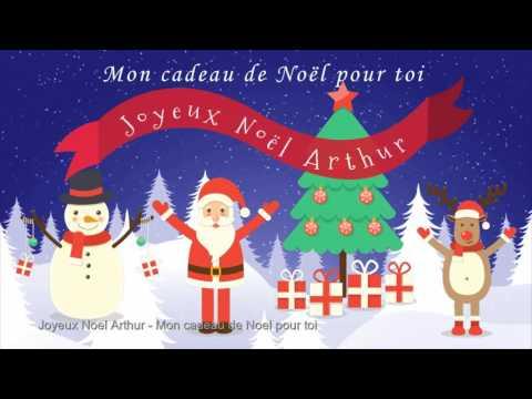 Joyeux Noël Arthur - Mon cadeau de Noël pour toi