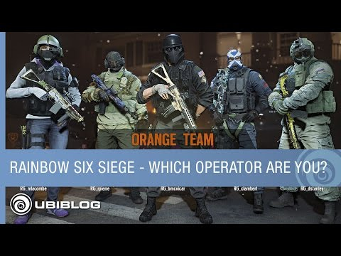 Rainbow Six Siege - Which Operator Are You? [US]