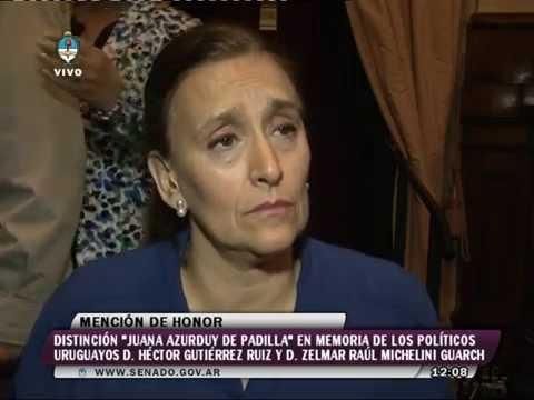Gabriela Michetti En Los Premios Juana Azurduy 26052016