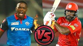 Rabada vs Chris Gayle | DC vs KXIP Full Match Analysis And Dream 11 Prediction | IPL 2019