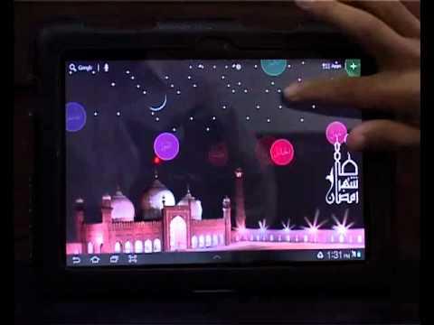 Names of Allah Live Wallpaper Walkthrough - YouTube