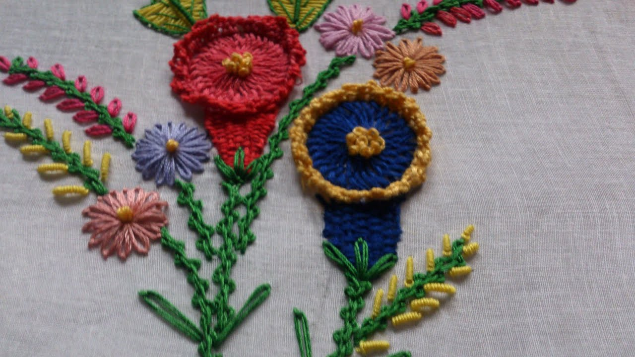 Hand Embroidery Designs Hand Embroidery Tutorial Embroidery Ideas