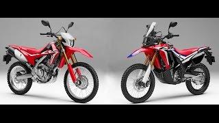 Honda CRF250 L vs. CRF250 Rally - Visual Comparing HD thumbnail