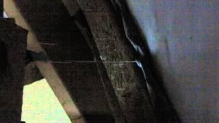 nieszczelna membrana dachu
