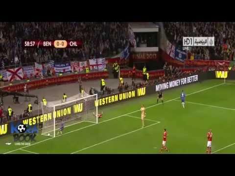 Full Highlights SL Benfica Vs Chelsea 1-2 Final Ueropa Leage 14-05-2013