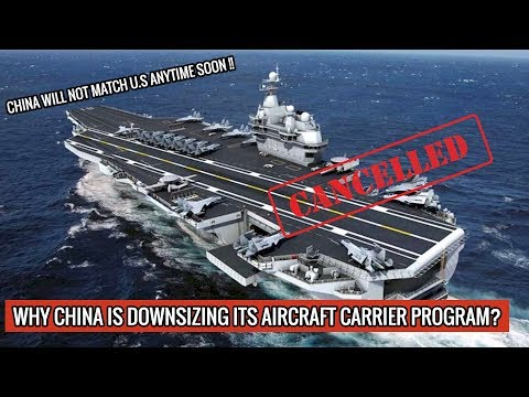 CHINA CANCELS 5th & 6th CARRIERS WHICH WERE SUPPOSED TO RIVAL AMERICAN ONES !